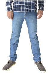 COTTONS JEANS Celeste de Hombre modelo ANGEL Casual Pantalones Jeans