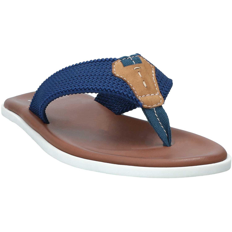 Sandalia de Hombre GUANTE Azul / marrón valencia