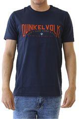 Dunkelvolk Azul oscuro de Hombre modelo STRONGER Casual Polos