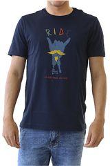 Dunkelvolk Azul oscuro de Hombre modelo RIDE Casual Polos