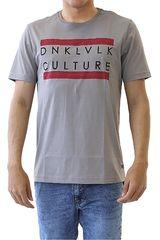 Dunkelvolk Gris de Hombre modelo CARACOLA Casual Polos