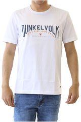 Dunkelvolk Blanco de Hombre modelo STRONGER Casual Polos