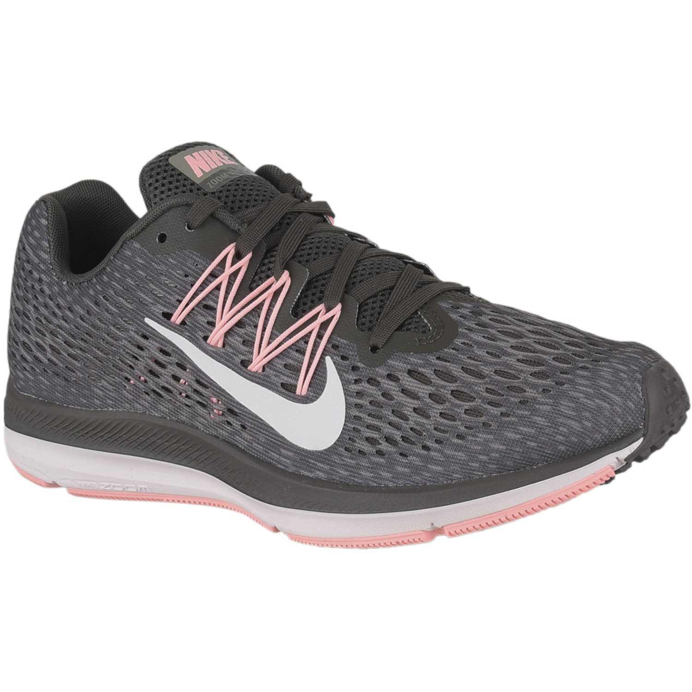 Zapatilla de Mujer Nike Plomo / rosado wmns nike zoom winflo 5