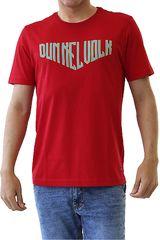 Dunkelvolk Rojo de Hombre modelo HELL Casual Polos