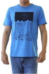 Dunkelvolk Azul de Hombre modelo MARCAHUASI Casual Polos