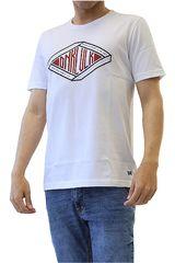 Dunkelvolk Blanco de Hombre modelo THANOS Casual Polos
