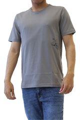 Dunkelvolk Gris de Hombre modelo SHARK Casual Polos