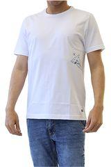 Dunkelvolk Blanco de Hombre modelo SHARK Casual Polos