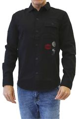 Camisa de Hombre Dunkelvolk Negro BLASON