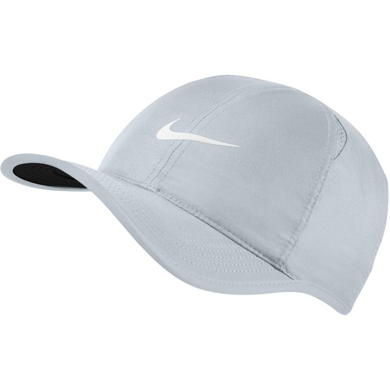 Gorro de Hombre Nike gris   blanco nike feather light cap ... 6a63215e6d2
