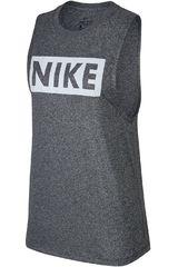 Nike Plomo   gris de Mujer modelo W NK DRY TANK LEG NK MSCL Deportivo  Bividis ce8518a141d25