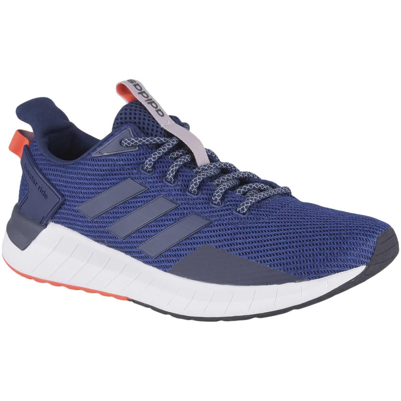 Zapatilla de Hombre Adidas Azul questar ride