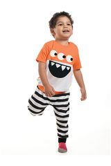 Pijama de Bebito Kayser Naranja 00.630