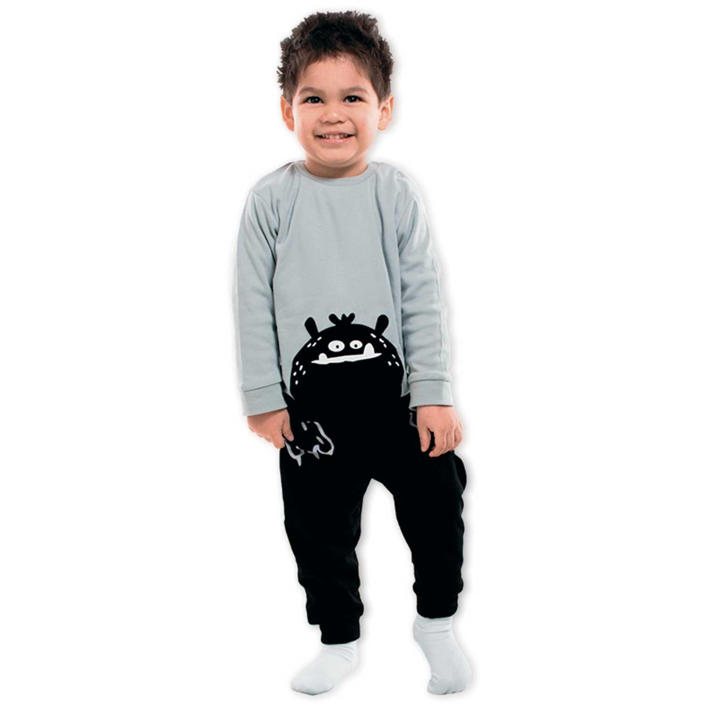 Pijama de Bebita Kayser Negro 00.631