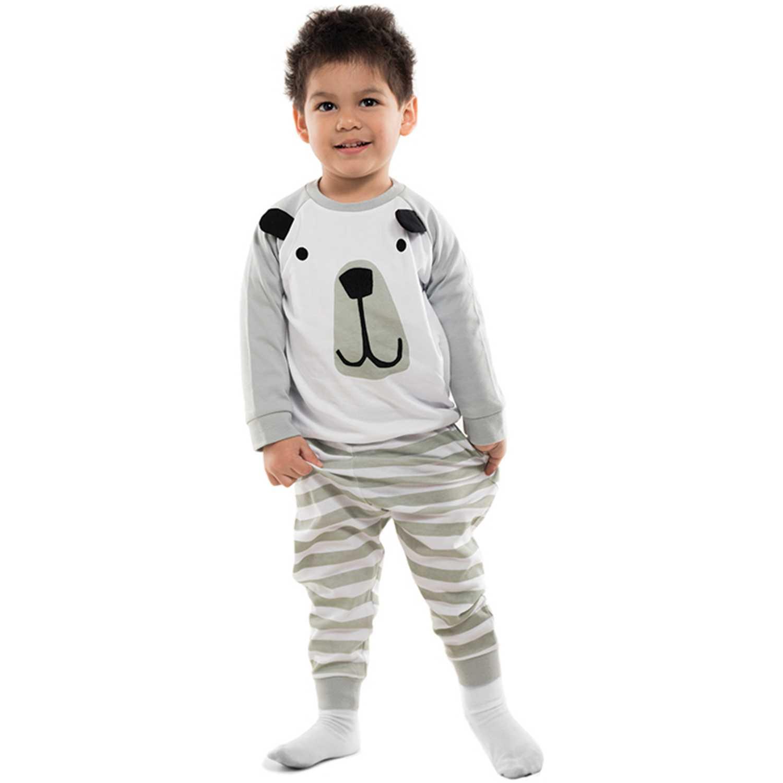 Pijama de Bebito Kayser Gris 00.632