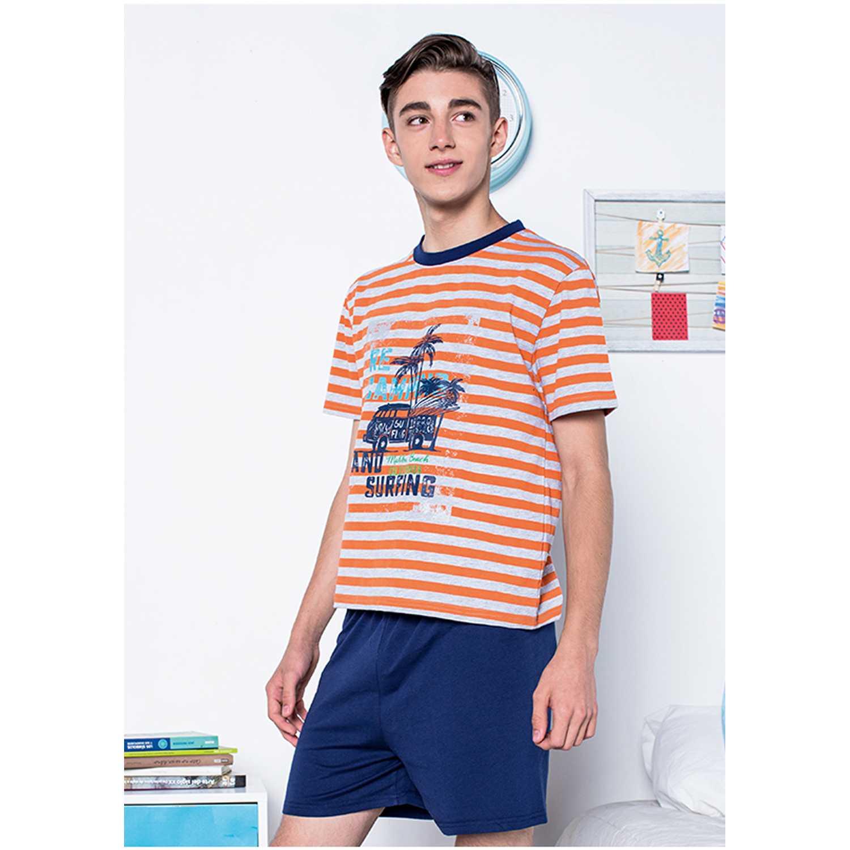 Pijama de Jovencito Kayser Naranja 76.584