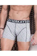 Kayser Gris de Hombre modelo 93.14 Calzoncillos Boxers Lencería Ropa Interior Y Pijamas