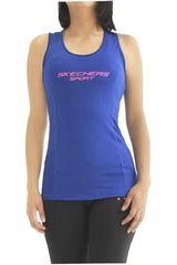 Skechers Azul de Mujer modelo bvidi-262-35513dd Bividis Deportivo