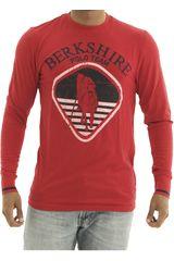 BERKSHIRE POLO CLUB Rojo de Hombre modelo polera-159-007407 Casual Poleras
