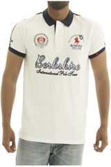 Polo de Hombre BERKSHIRE POLO CLUB Blanco polo-159-1534124