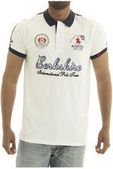 Polo de Hombre BERKSHIRE POLO CLUB Blanco polo-159-1534124