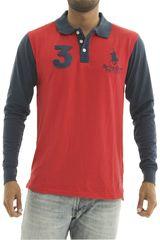 Polo de Hombre BERKSHIRE POLO CLUB Rojo polera-159-1536301