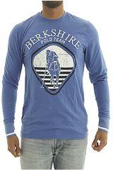 BERKSHIRE POLO CLUB Azul de Hombre modelo polera-159-007407 Casual Poleras