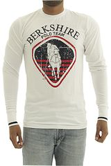 Polo de Hombre BERKSHIRE POLO CLUB Blanco polera-159-007407