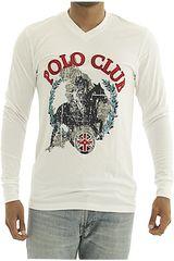 BERKSHIRE POLO CLUB Blanco de Hombre modelo polera-159-007412 Casual Poleras