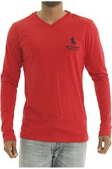 BERKSHIRE POLO CLUB Rojo de Hombre modelo polera-159-70259 Casual Poleras