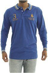 Polo de Hombre BERKSHIRE POLO CLUB Azul polera-159-1536187
