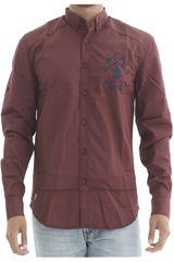 Camisa de Hombre BERKSHIRE POLO CLUB Vino camisa-159-0432333