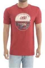 Skechers Rojo de Hombre modelo polo-163-36776dd Polos Deportivo