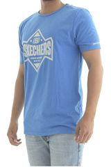 Skechers Azul de Hombre modelo polo-163-36777dd Polos Deportivo