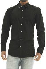 Camisa de Hombre BERKSHIRE POLO CLUB Negro camisa-159-1335661