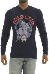 BERKSHIRE POLO CLUB Azul de Hombre modelo polera-159-007412 Casual Poleras