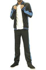 Skechers Negro / azul de Hombre modelo buzo-162-36279dd Deportivo Buzos