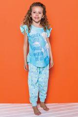 Pijama de Niña Kayser Celeste D7305