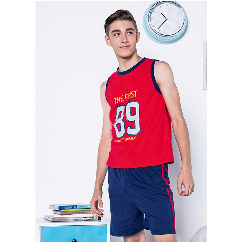 Pijama de Jovencito Kayser Rojo 76.583