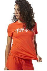 Reebok Rojo de Mujer modelo GS OPP Script Reebok Tee Deportivo Polos