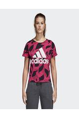Adidas Fucsia de Mujer modelo W ESS AOP T Deportivo Polos