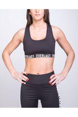 Everlast Negro de Mujer modelo PETO HONEST Deportivo Tops