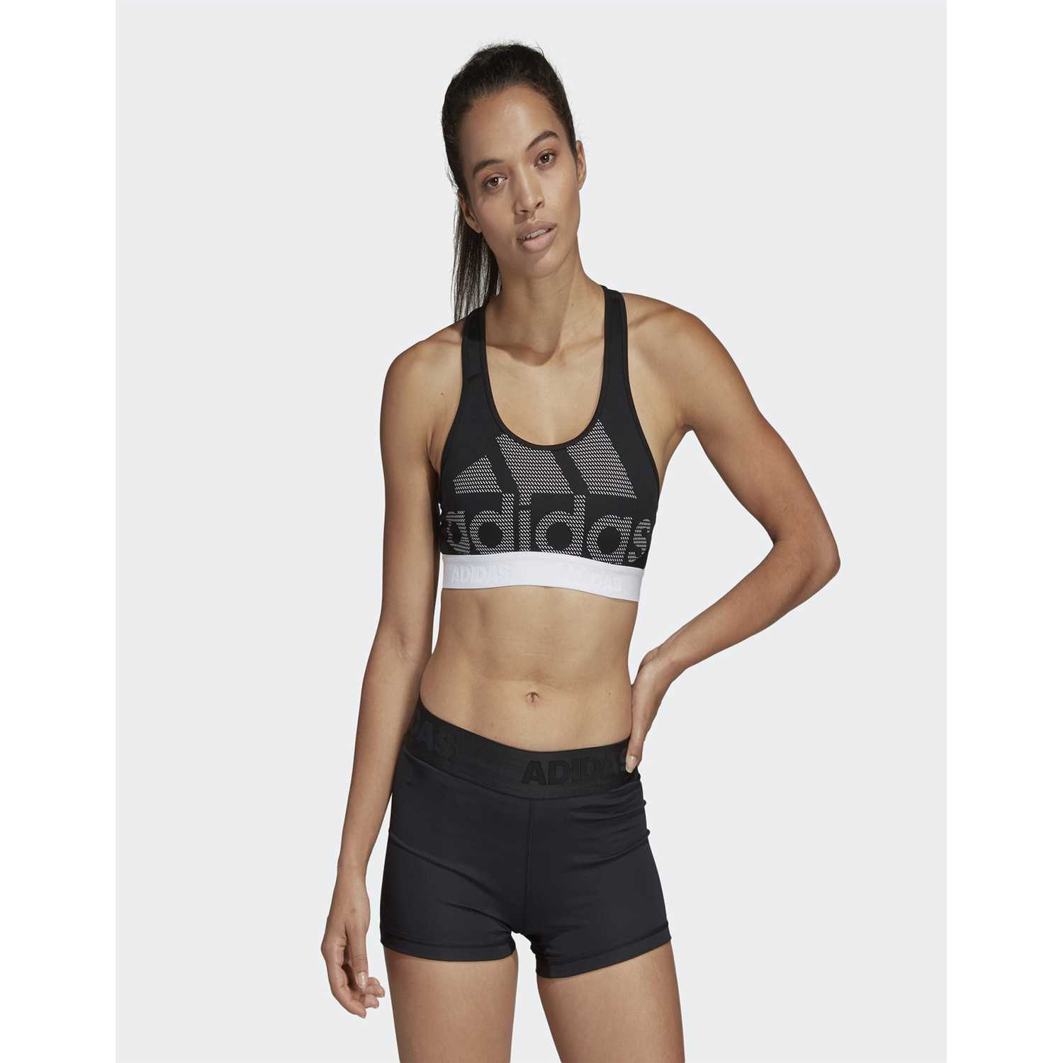 Top de Mujer Adidas Negro drst ask spr lg