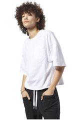 Reebok Blanco de Mujer modelo TS Pocket Tee Deportivo Polos