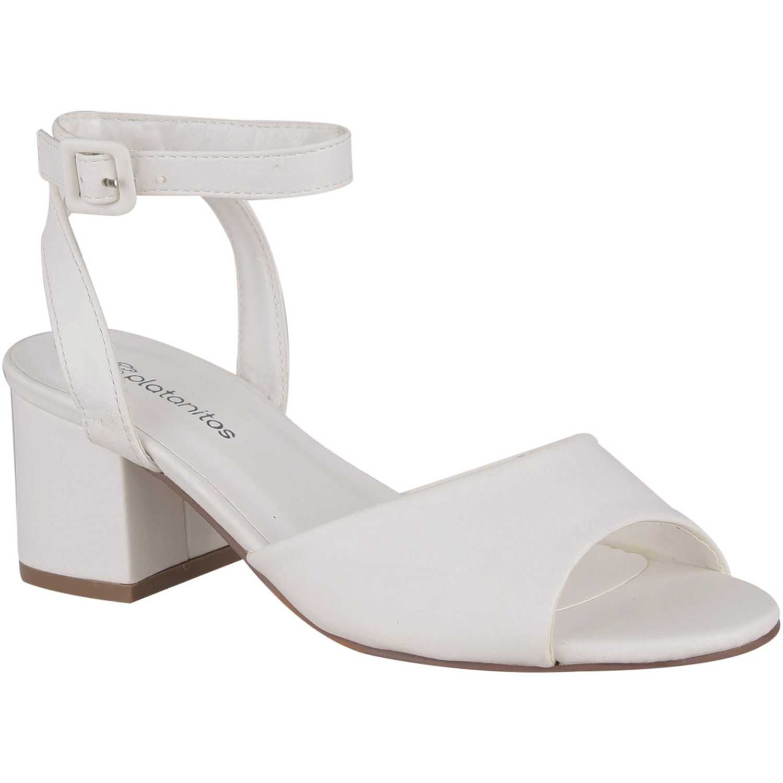 Sandalia de Mujer Platanitos Blanco s marian3