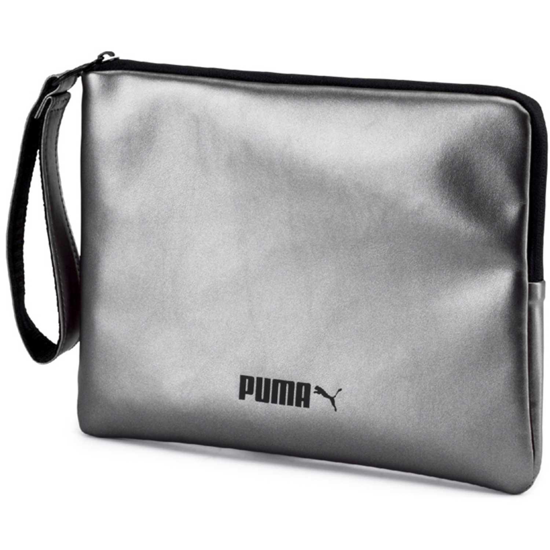 Bolso de Mujer Puma Plateado prime classics pouch