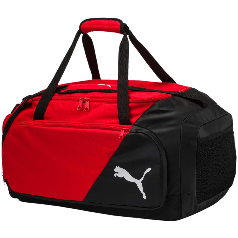 Maletin Deportivo de Hombre Puma Negro / rojo liga medium bag