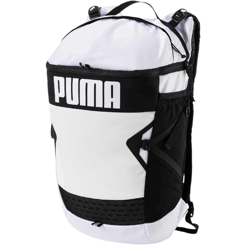 Mochila de Hombre Puma Blanco / negro puma stance backpack
