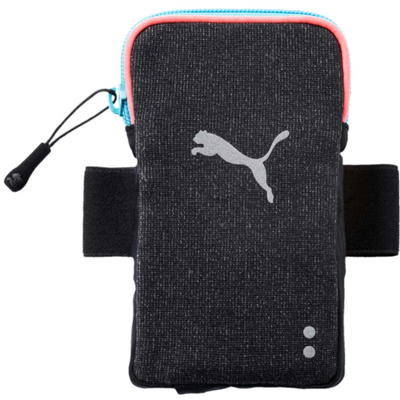 Porta Celular de Hombre Puma Negro /gris pr womens arm pocket