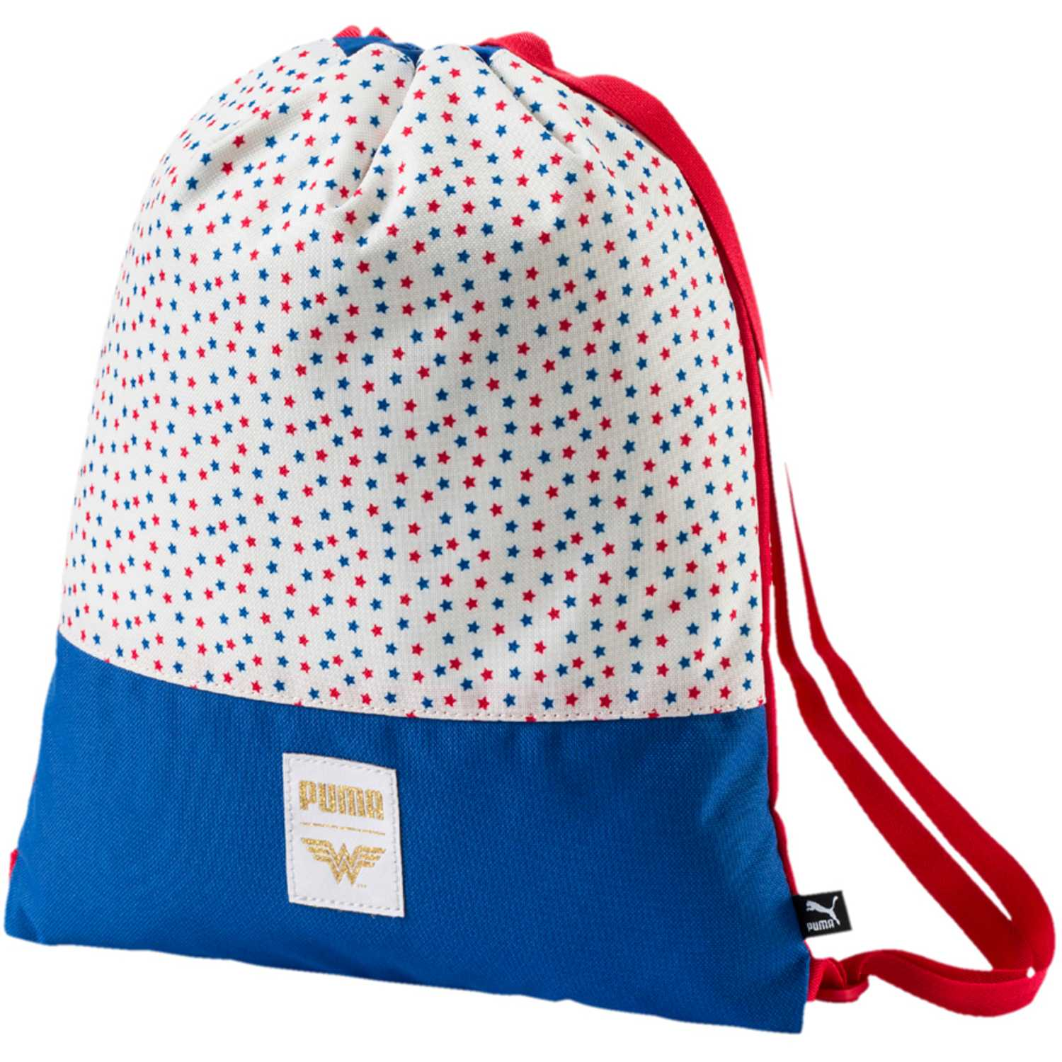 Bolso de Niña Puma Blanco / azul wonder woman gym sack